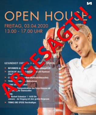 OPEN HOUSE ABGESAGT!!